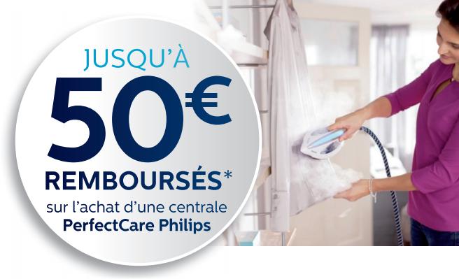 Bon Plan!Philips rembourse 50€ sur ses centrales vapeur