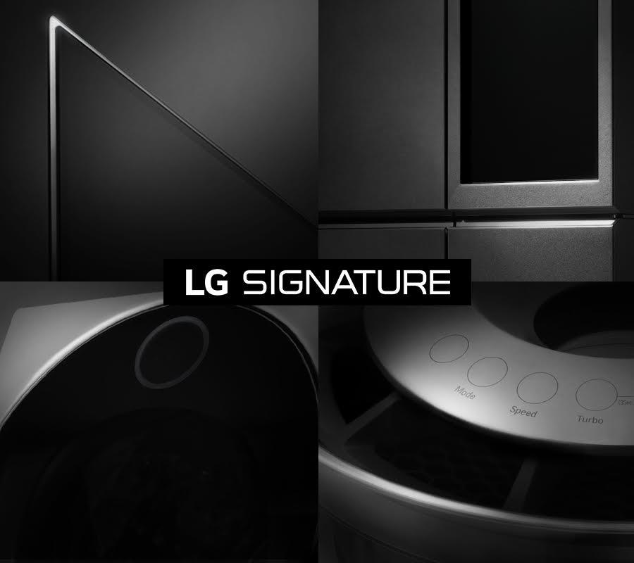 CES 2016–LG présente Signature