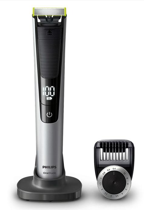 Promo 53€!PHILIPS OneBlade Pro QP6520, tondeuse barbe