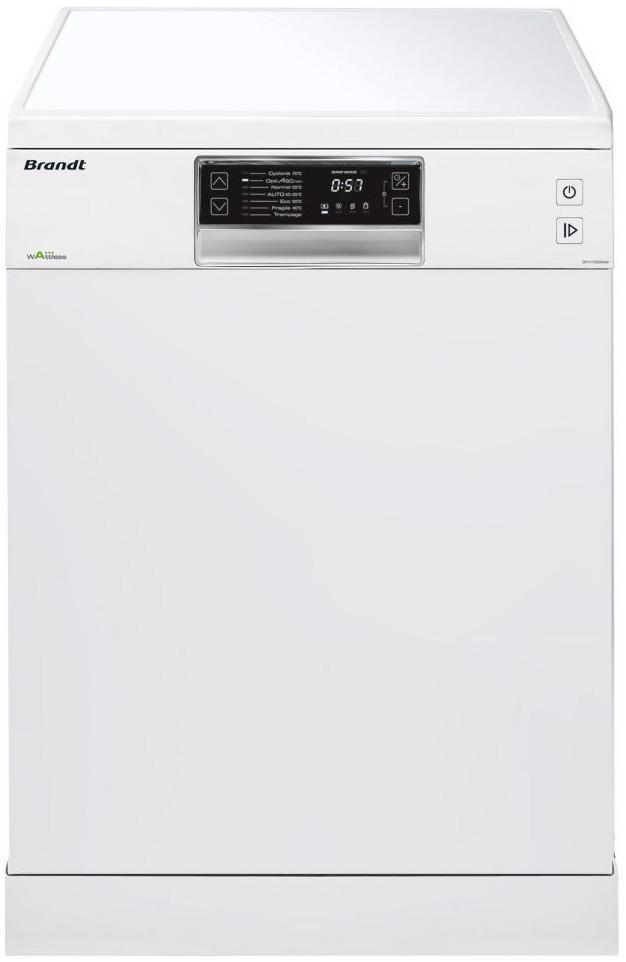 BRANDT DFH13534W, lave vaisselle 13 couverts à 330€