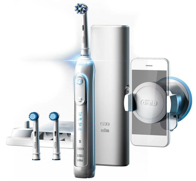 Promo 99€!ORAL-B GENIUS 8000S, brosse à dents connectée