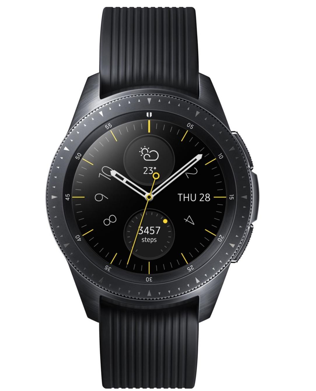 Montre connectée Samsung Galaxy Watch noir à 229,00€