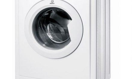Promo INDESIT IWDC6125, lave-linge séchant