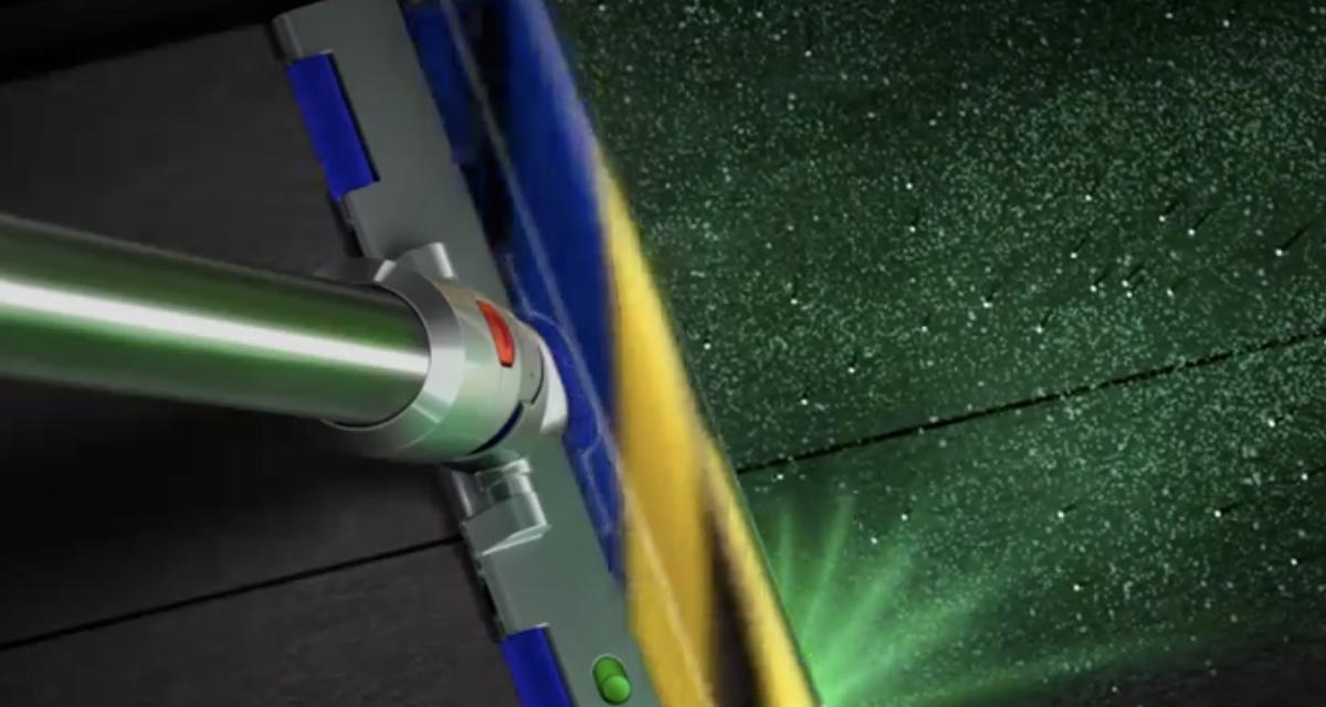 Dyson V15 Detect : le nouvel aspirateur balai muni d'un laser